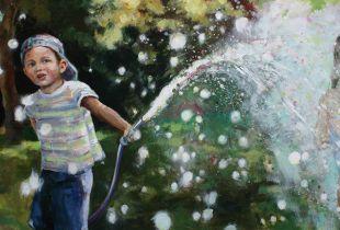 Spritzwasser, , 80 x 160 cm, ,