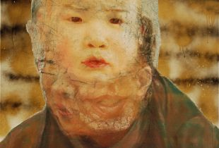 Anton, , 70 x 60 cm, 2012, Öl auf Leinwand