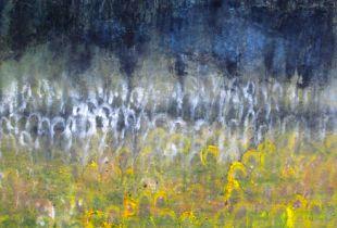 Aprilnacht, 85 x 65 cm, 2014, Öl auf Leinwand
