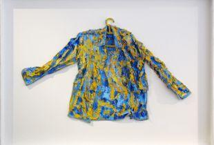 Arbeiterhemd, , 80 x 136 cm, , Öl auf Baumwolle