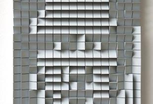 Architecture Portrait, , 44,5 x 36 cm, 2013, Acryl auf Holz