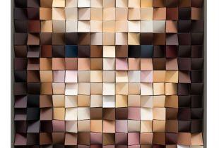 Architecturportrait #7, 83 x 63 cm, 2017, Lack auf Holz