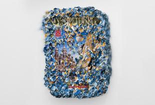 Sankt Petersburg Europa, 33 x 26,5 cm, 2005, Öl auf Papier