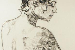 Beulah, , 180 x 125 cm, 2011, Mixmedia auf Leinwand