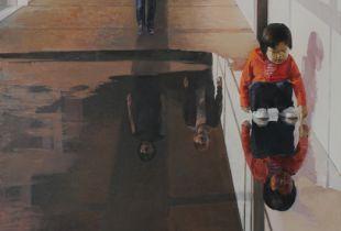 Bodol II, , 130 x 140 cm, 2011, Öl auf Nessel