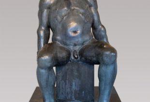 Boxer, , 164 x 100 x 120 cm, 1972, Bronze