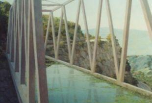 Brücke, , 120 x 90 cm, 2010, Öl auf Leinwand