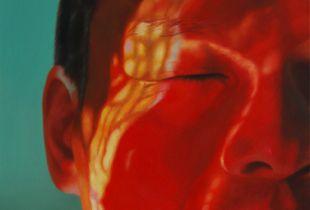 Buntes Leben No. 1 , , 110 x 80 cm, 2009, Öl auf Leinwand