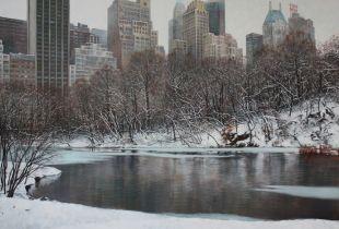 Central Park , , 150 x 200 cm, 2009, Öl auf Leinwand