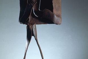 Confidencias, , 76 x 37 x 20 cm, , Bronze