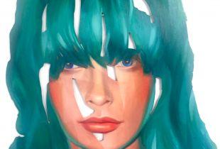 Cut Out, 115 x 92 cm, 2014, Öl auf Edelstahl