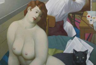 Der Maler, 180 x 130 cm, 2007, Acryl auf Leinwand