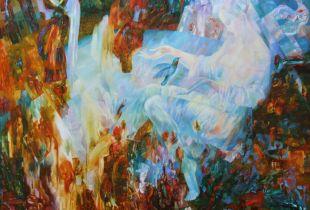 Einheit, , 130 x 170 cm, 2009, Öl auf Leinwand