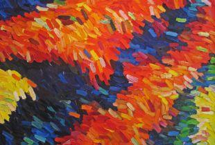 Wasserhochzeit, , 145 x 162 cm, 2010, Öl auf Leinwand