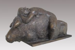 Europa, , 47 x 105 x 43 cm, 1997, Bronze