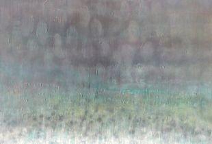 Felder II, 160 x 120 cm, 2014, Öl auf Leinwand