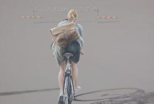 Fernweh, 100 x 150 cm, 2017, Öl auf Leinwand