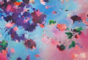 Gelassen atmet der Tag, , 135 x 200 cm, 2011, Öl auf Leinwand