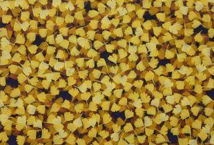 Herbst - Brokat, , 120 x 140 cm, 2008, Öl auf Leinwand
