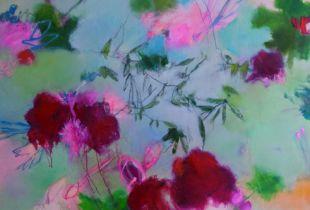 Im Maulbeergarten, , 100 x 120 cm, 2011, Öl auf Leinwand