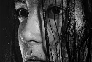 Temptation, 100 x 100 cm, 2018, Acryl und Öl auf Leinwand
