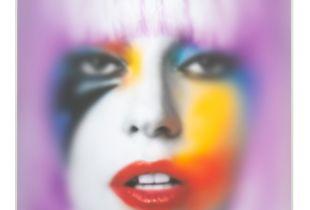 Lady Gaga, 75 x 60 x 17 cm, 2014, Mixmedia hinter Plexiglas