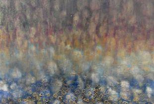 Landschaft, 70 x 55 cm, 2014, Öl auf Leinwand