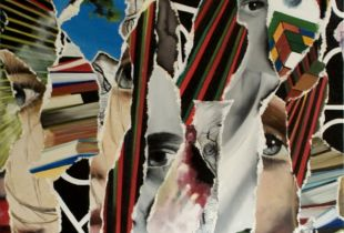 Layers, 150 x 120 cm, 2010, Öl auf Leinwand