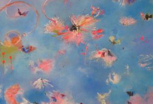Love me, please love me, , 130 x 140 cm, 2012, Öl auf Leinwand