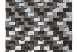Holzrelief, 75 x 75 cm, 2012, Graphit auf Holz