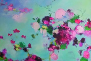 Mittags, , 150 x 175 cm, 2011, Öl auf Leinwand