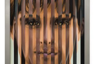 Multipersonality #69, 82 x 64 cm, 2014, Öl auf Holz