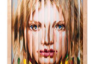 Multipersonality #6, 101 x 95 cm, 2009, Öl auf Holz