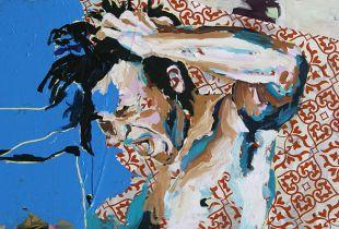 Ohne Titel, , 100 x 200 cm, 2010, Acryl  auf Leinwand