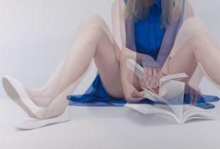 Overlapping, , 80 x 120 cm, 2014, Öl auf Leinwand