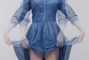 Overlapping, , 120 x 120 cm, 2014, Öl auf Leinwand