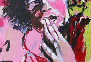 Portrait, , 130 x 180 cm, 2009, Acryl  auf Leinwand