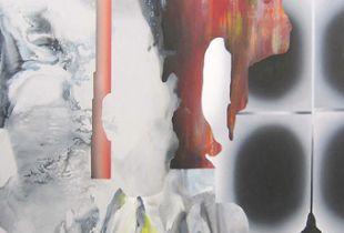 Raging Panda, 160 x 110 cm, 2014, Acryl und Öl auf Leinwand