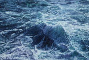 Sea 2, 140 x 210 cm, , Öl auf Leinwand