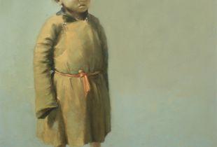 Schüler, , 110 x 90 cm, 2008, Öl auf Nessel