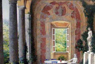 Siesta, , 76 x 61 cm, 2008, Öl auf Leinwand