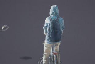 Stadtszenen II - 1, 90 x 160 cm, 2016, Öl auf Leinwand