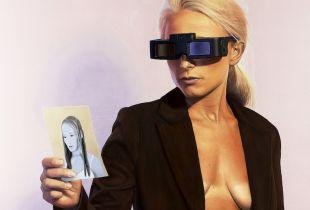 The Electric Geisha, Dzimirsky, Dirk, 100 x 100 cm, 2012, Öl auf Leinwand
