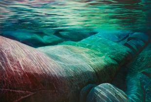 Ursprung, , 150 x 200 cm, 2008, Öl auf Leinwand