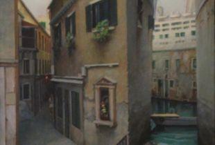 Venedigmetamorphosen, , 70 x 50 cm, 2009, Öl auf Leinwand