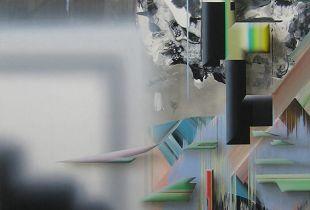 Viktor M, 160 x 110 cm, 2014, Acryl und Öl auf Leinwand
