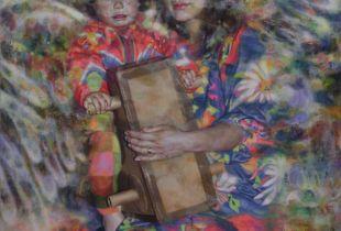 All + Ein #18, , 180 x 160 cm, 2013, Öl auf Leinwand