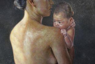 Soonok und Goya, , 200 x 170 cm, 2013, Öl auf Leinwand