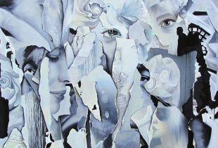 Thank You, 150 x 150 cm, 2014, Öl auf Leinwand